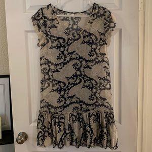 Joie Paisley Print Dress